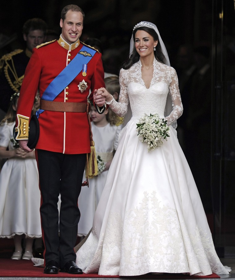 Prince William and Kate, the Duchess of Cambridge, also preferred charity donations to wedding gifts when they got married in 2011.