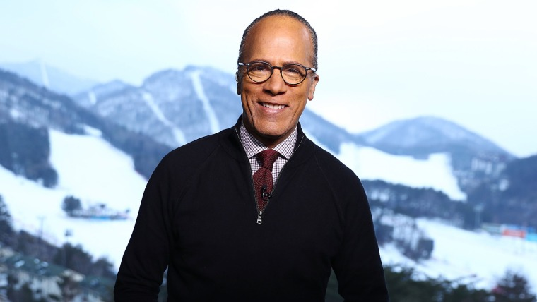 Image: NBC Nightly News with Lester Holt - Season 2018