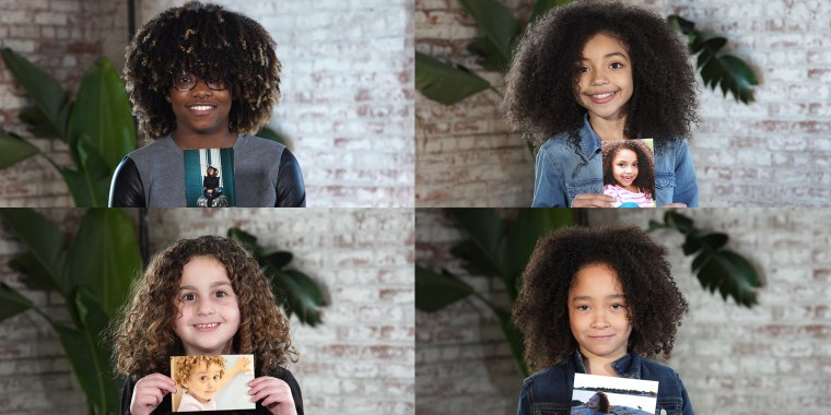 These curly-haired girls love their natural texture ... and some are even teaching their moms a thing or two about self-confidence.
