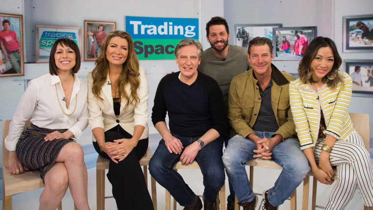 The cast of Trading Spaces, on TODAY