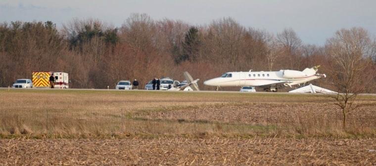 Image: Cessna 150 Plane Crash