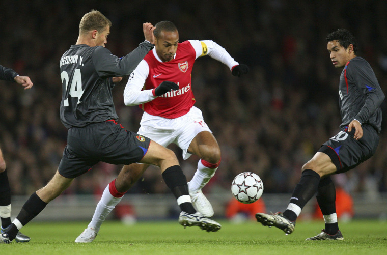 Image: Arsenal vs CSKA Moscow