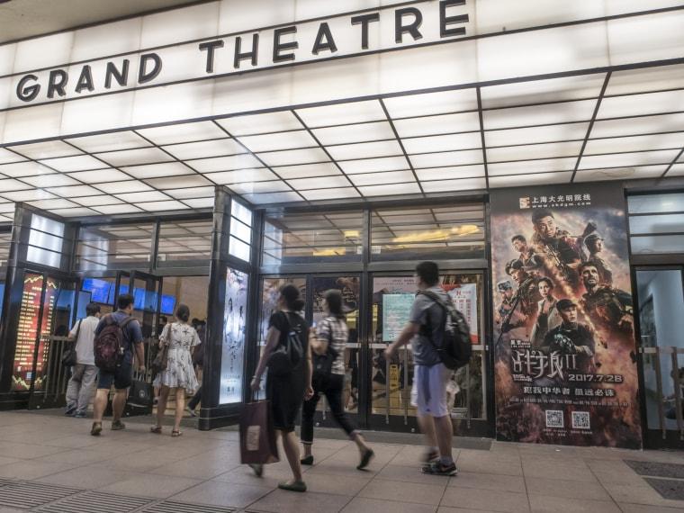 China's movie industry benefits US