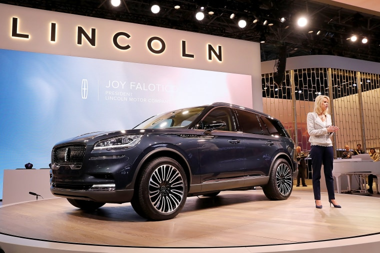 Image: Automobile Manufacturers  Debut Latest Models At The New York International Auto Show