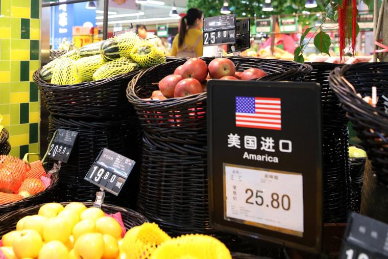 Image: Chinese tariffs