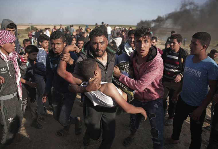 Image: Gaza clashes