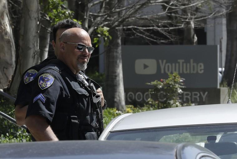 Image: YouTube shooting