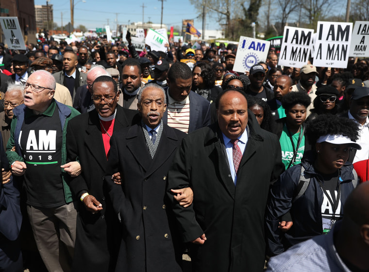 Image: Memphis Marks 50th Anniversary Of Martin Luther King Jr's Assassination