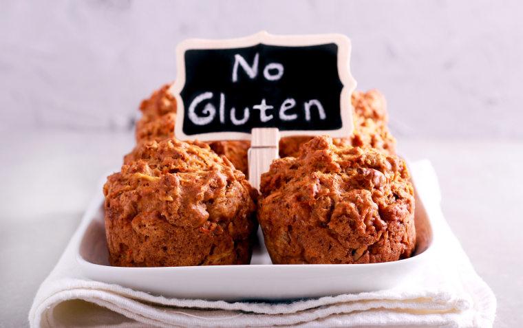 Image: No gluten muffins on plate