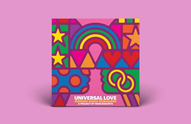 Universal Love, Because Love + Music Are Universal Languages.  Album of Reimagined Love Songs Features Artistic Vision of Bob Dylan, Kesha, Benjamin Gibbard, St. Vincent, Valerie June and Kele Okereke.
