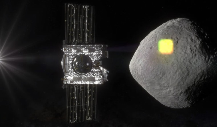 Image: OSIRIS-REx spacecraft