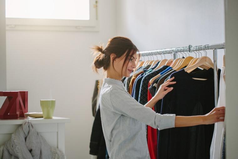 Image: Millennial wardrobe