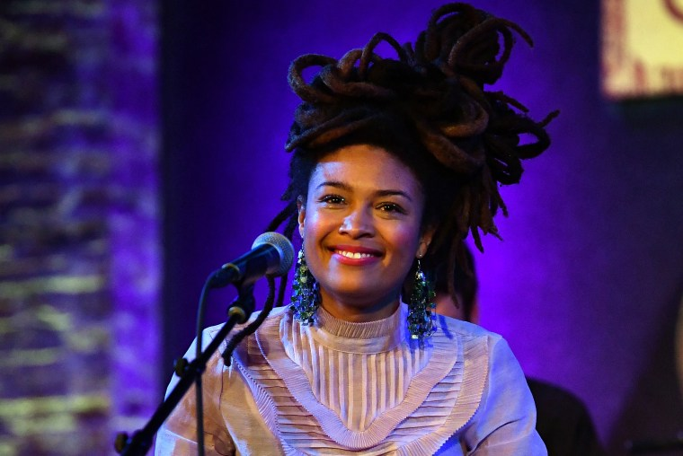 Image:  Valerie June performs in New York