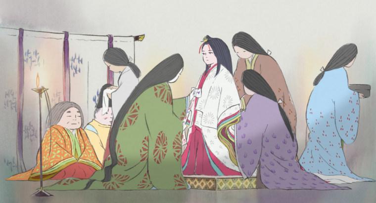 Image: 'The Tale of the Princess Kaguya'