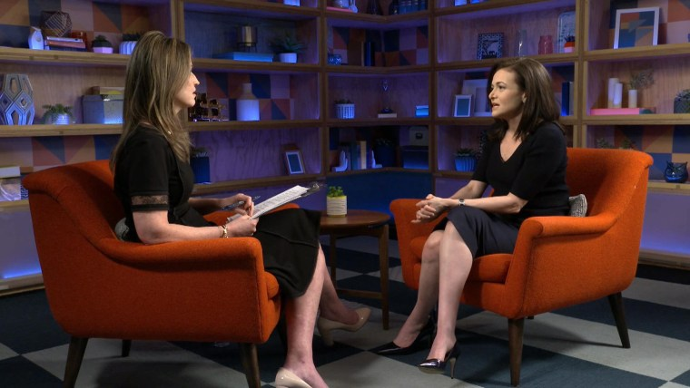 Sheryl Sandberg on TODAY