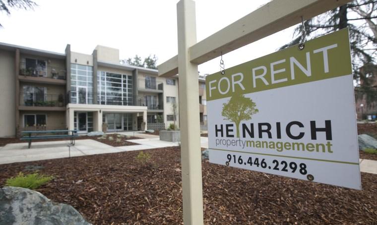 A rental property in Sacramento, California.