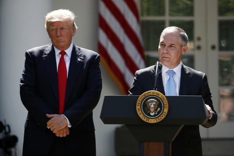 Image: Donald Trump and Scott Pruitt
