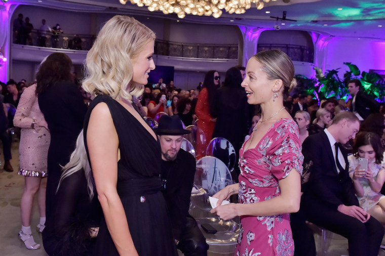 Paris Hilton and Nicole Richie reunite