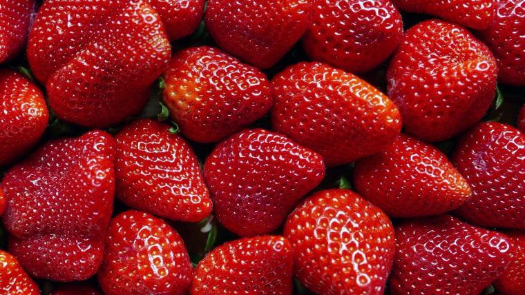 Image: Full Frame Shot Of Strawberries