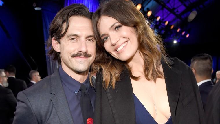 Mandy Moore and Milo Ventimiglia at Critics' Choice Awards