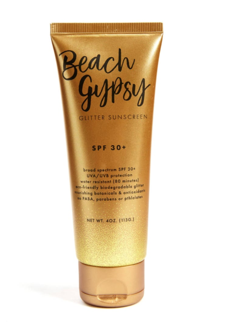 cool mothers day gifts glitter sunscreen