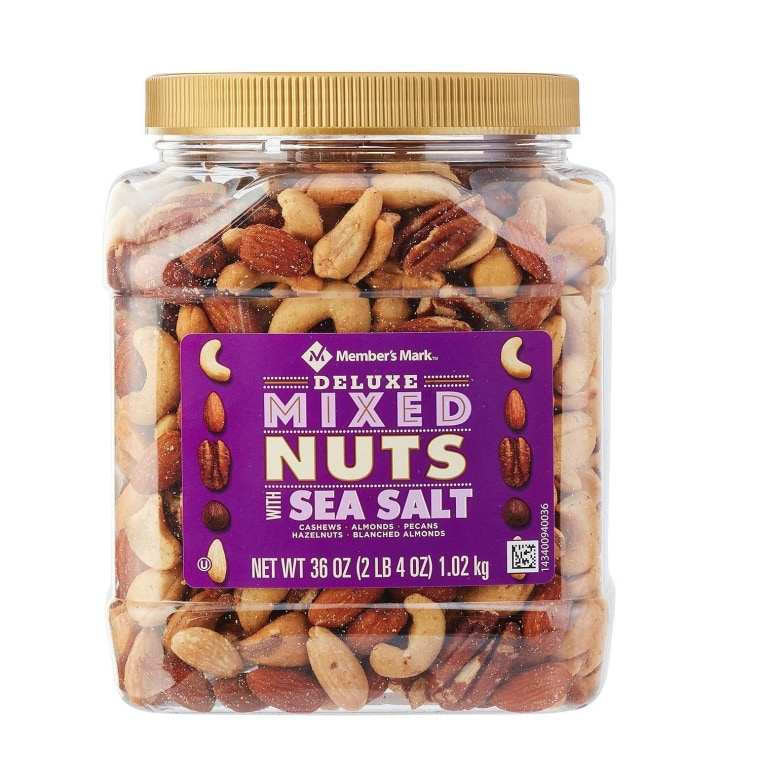 Mixed nuts on Amazon.