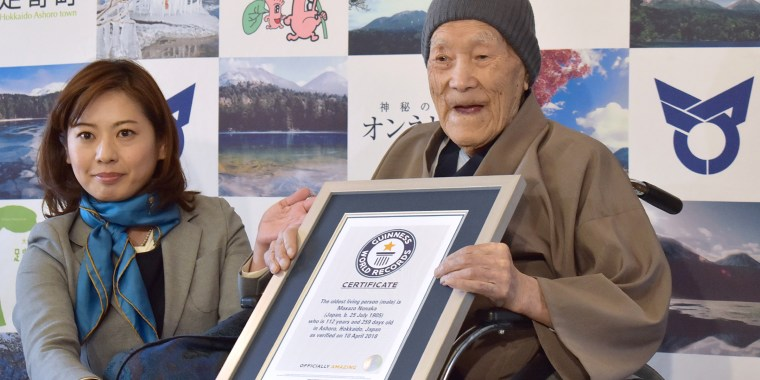 oldest male person