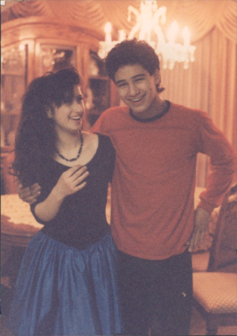 Mario Lopez and his sister Marissa