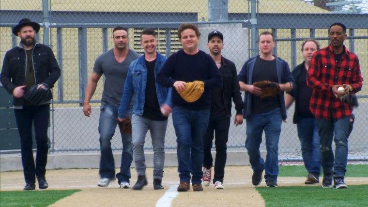 Sandlot Reunion on TODAY