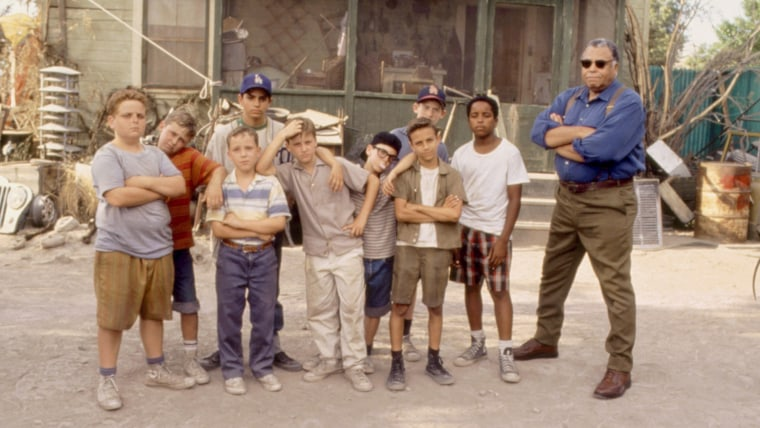 THE SANDLOT, Patrick Renna, Victor DiMattia, Shane Obedzinski, Mike Vitar, Marty York, Tom Guiry, Ch