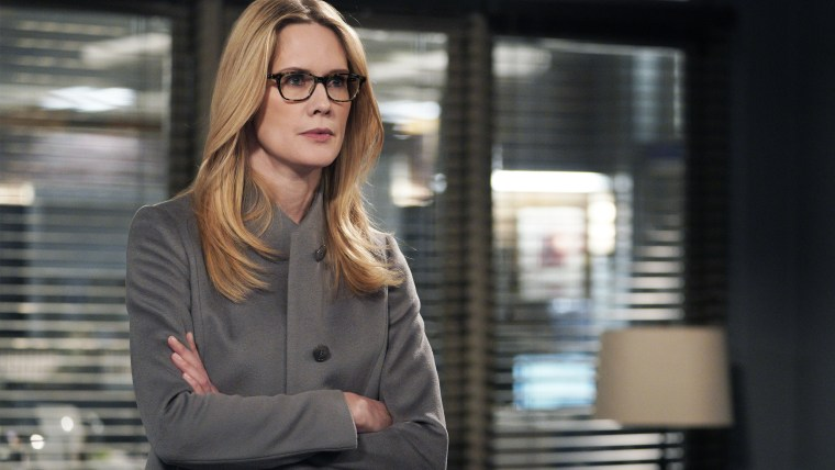 "LAW & ORDER: SPECIAL VICTIMS UNIT -- ""Sunk Cost Fallacy"" Episode 1919 -- Pictured: Stephanie March as Alexandra Cabot."