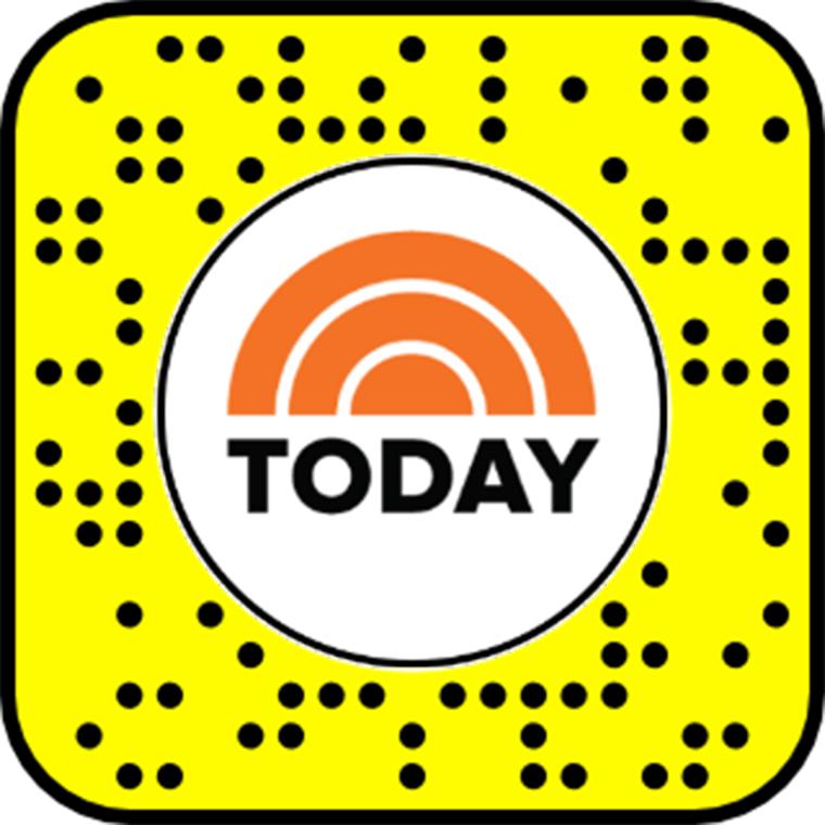 Unlock the Team TODAY Snapchat Lens