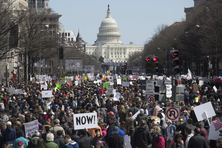 Image: March For Our Lives in Washington DC