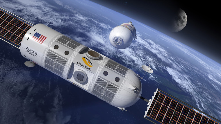 This luxury space hotel could be up and running in four years