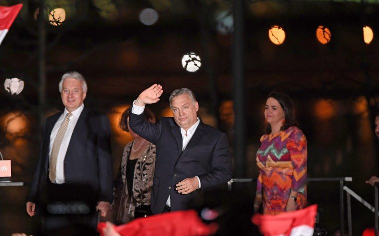 Image: HUNGARY-ELECTION-ORBAN