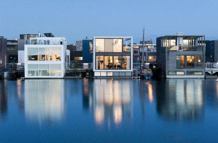 How floating architecture could help save cities from rising seas