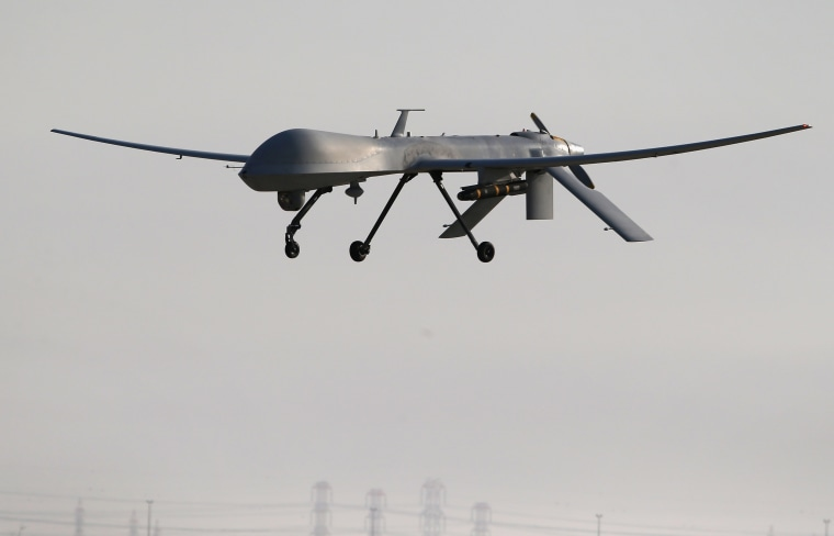 Image: A U.S. Air Force MQ-1B Predator unmanned aerial vehicle (UAV)
