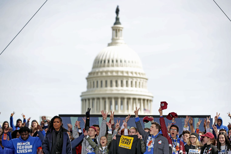 Image: Hundreds Of Thousands Attend March For Our Lives In Washington DC