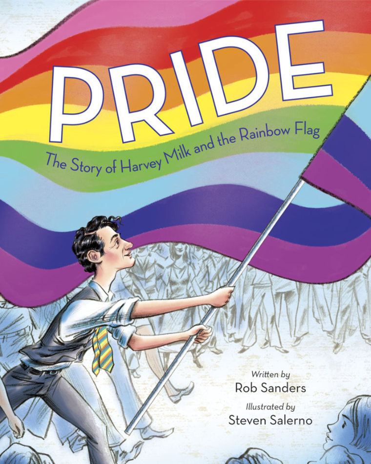 Image: Page from Pride Picture Book