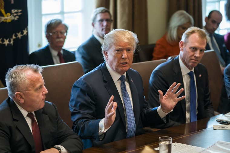 Image: President Trump Comments On Syria During Cabinet Meeting