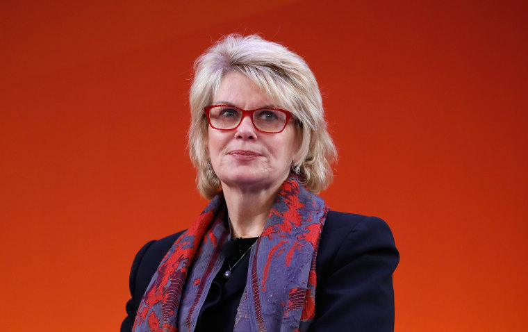 Image: Anne Finucane speaks during Advertising Week