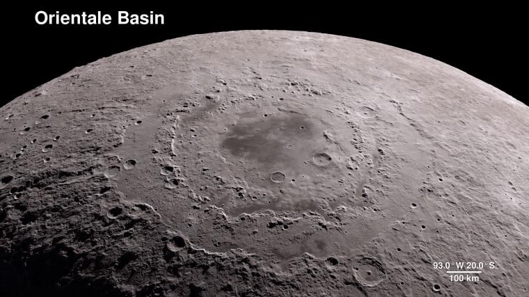 Image: Moon virtual tour 4k