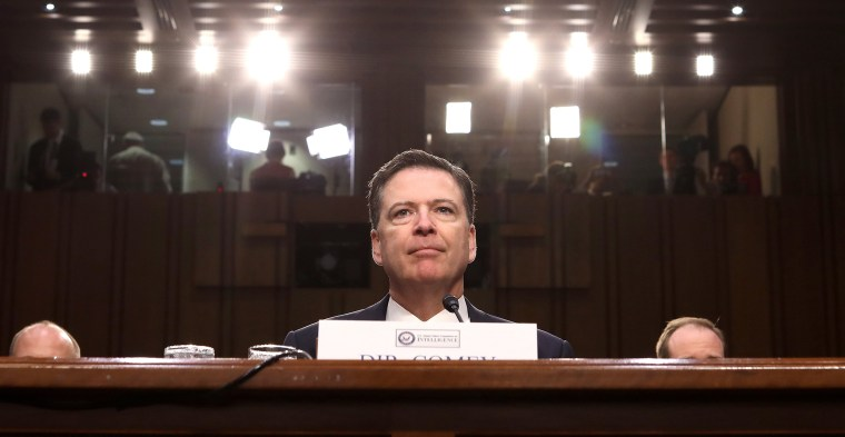 Image: James Comey publishes book 'A Higher Loyalty'