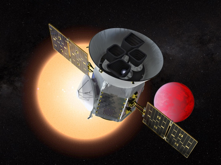 Image: Transiting Exoplanet Survey Satellite