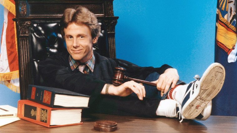 NIGHT COURT, Harry Anderson, (1985), 1984-92. (C)Warner Bros.