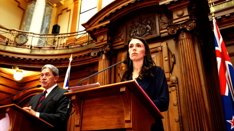 New Zealand prime minister, Jacinda Ardern on TODAY