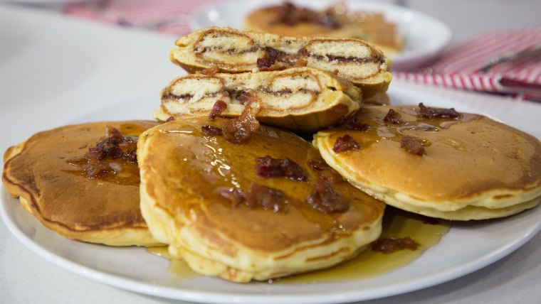 Harley Morenstein's Nutella-Stuffed Pancakes