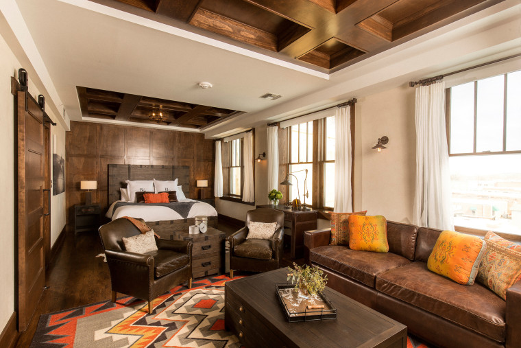 The Tack Room will make you feel like you're glamping on a horse farm.