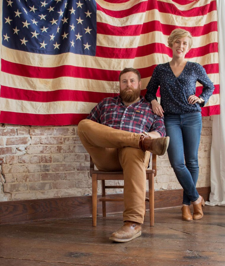 """""""Home Town"""" hosts Erin and Ben Napier are launching an American-made furniture line"""