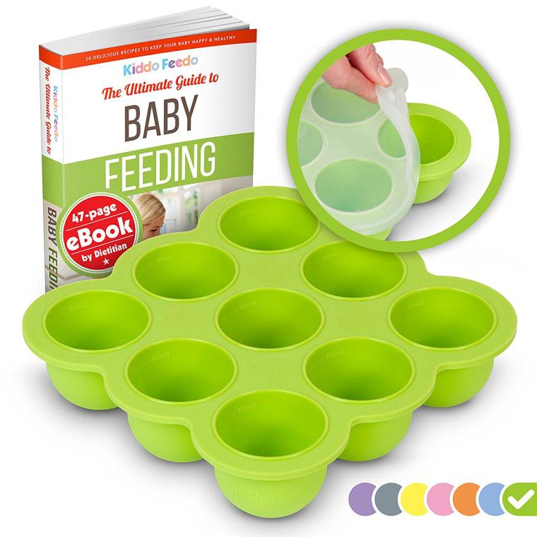 best baby food masher freezing tray
